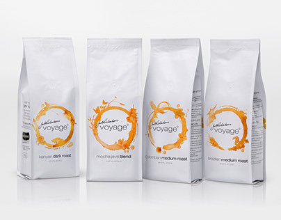 voyage˚ Coffee Packaging