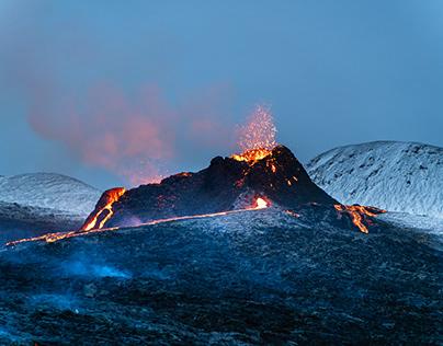 Iceland 2021 Volcanic Eruption I