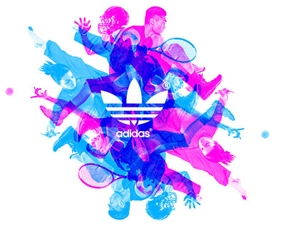 Adidas Neon Experiment