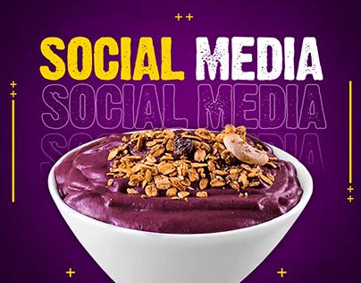 Social Media | Açaí
