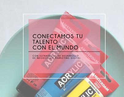 MIGRART MX // DISEÑO WEB