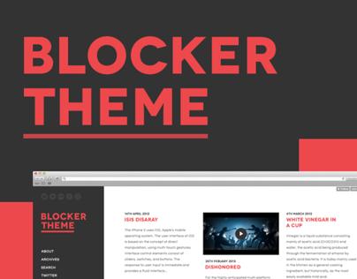 Blocker Theme - ** DEPRECATED **