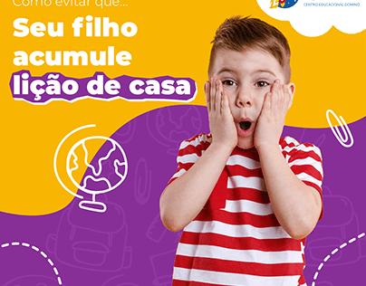 Centro Educacional Dominó - Social Media
