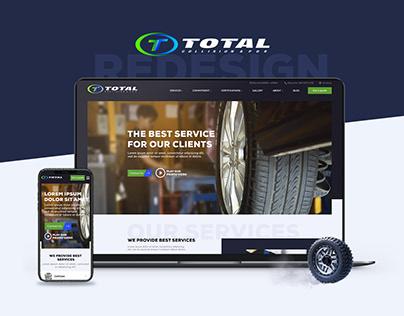 Redesign   Business website   Autobodyshop