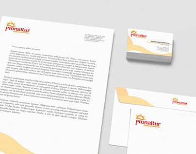 Pronaltur travel and tourism, logo and branding