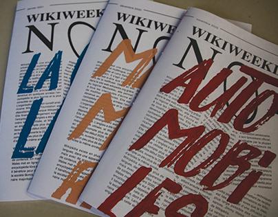MAGAZINE - Wikiweekly