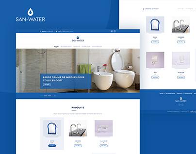 SanWater | Website Design