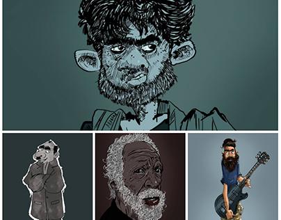 New caricatuer illustrations