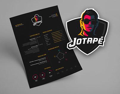 Jotapé - CV + Self Promotion Brand