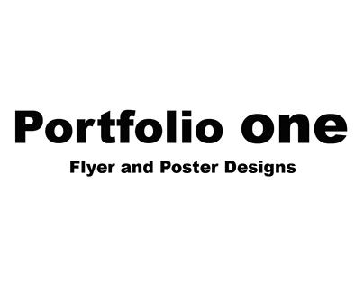 Portfolio One - Cinema Flyer and Poster Designs