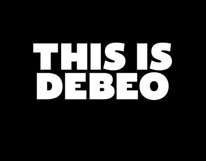 Debeo Typeface