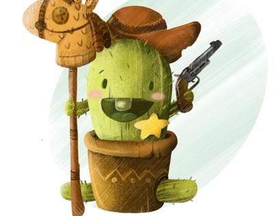 Little Cactus cowboy