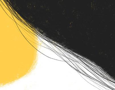 Zulali book cover illustration-design