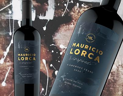 Mauricio Lorca INSPIRADO Packaging design