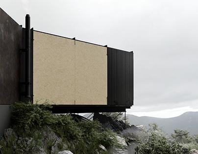 contemporary cabin, oslo