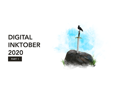Digital Inktober 2020 - Part 1