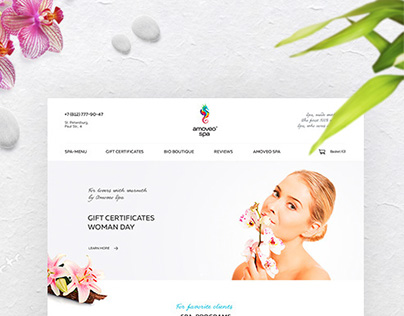 AMOVEO SPA - redesign website