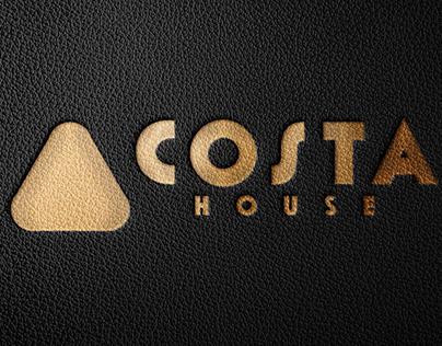 Free Stamping Black Leather Logo Mockup