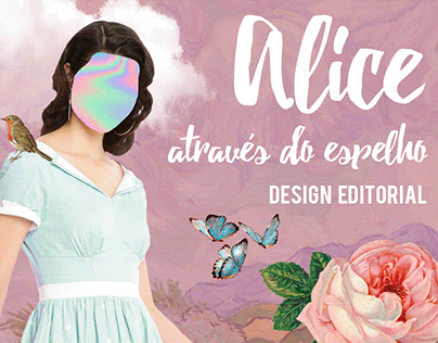 Livro: Alice através do espelho (Deluxe Edition)