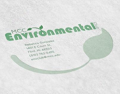 MCC Environmental Club Brand Identity