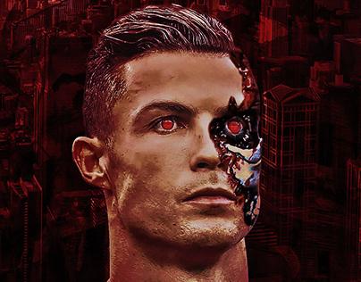 Cristiano Ronaldo The Terminator Mobile Wallpaper