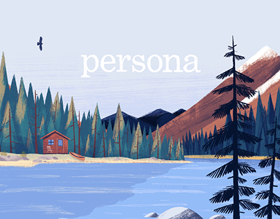 Persona Nutrition - Branding Illustrations