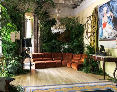 UNO de 50: 20th anniversary party interior design