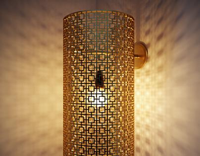 Nada Debs - Arabesque Lamp
