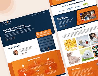 Vesisorb - Corporate Website