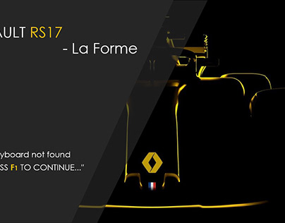 Form Study- Renault RS17