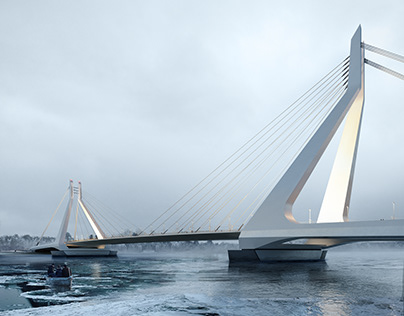 New Danube Bridge | In cooperation with UNStudio
