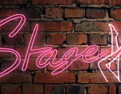 Title Design for a Burlesque Movie
