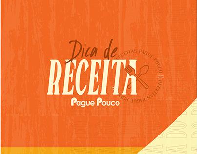 PAGUE POUCO - DICA DE RECEITA