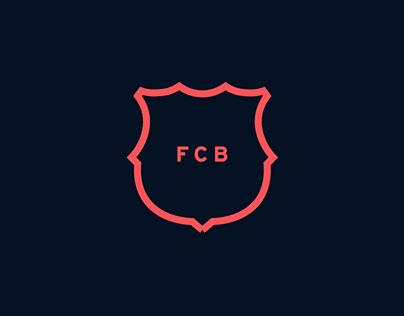 FC Barcelona - website concept