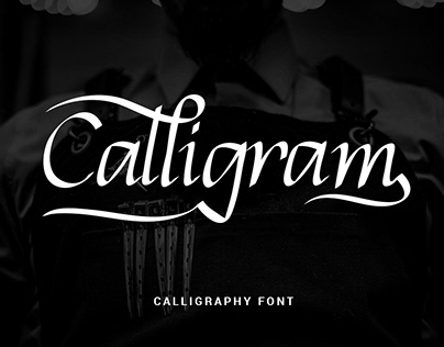 Calligram - Free Font