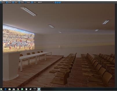 practica similación proyector de imagen