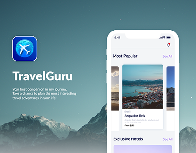 Travel Guru | iOS Application