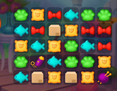 Cat's Paw game UI