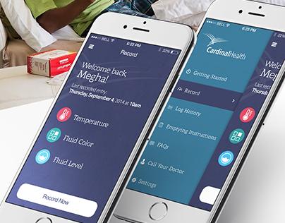 Cardinal Health Wound Drainage iOS App
