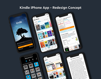 Kindle iPhone App - Redesign Concept