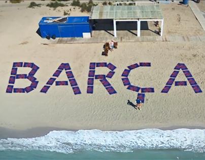 FCBarcelona Beach Towel 2015