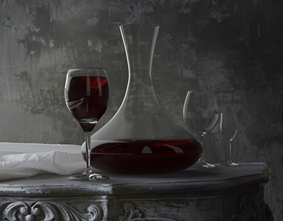 Wine decanter - Adobe Dimension Project