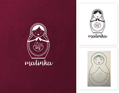 Malinka Logo design | Illustration | Modern