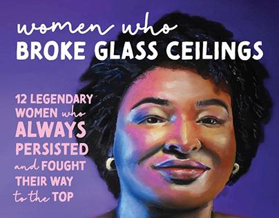 Women who broke glass ceilings calendar 2022