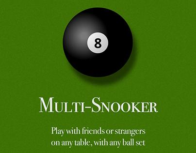 Multi-snooker