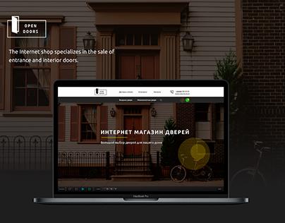 OpenDoors eCommerce Design