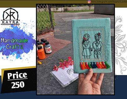 Handmade Crafts : Diary.