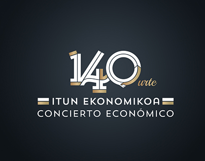 Eusko Jaurlaritza / 140 aniv. Concierto Económico