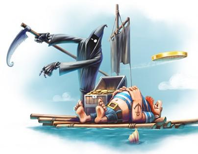 """Making of """"Dji. Death Sails"""""""