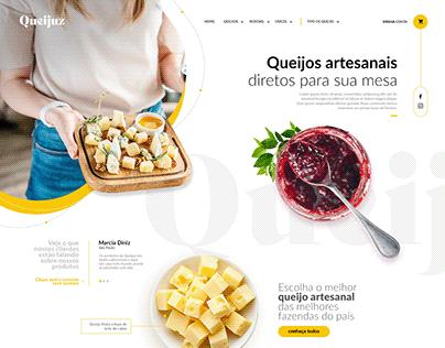 Queijuz - Venda de queijos artesanais